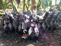 Rhino Army painted original