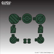 Axis-Joint-Set-LSA-Dark-Green