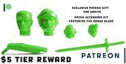 Patreon green copy