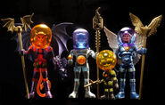 The Outer Space Men Cosmic Creator Series 2-Mel Birnkrant-Glyos-The Four Horsemen-trampt-116846o