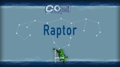 Go All Out! Fighter Showcase Raptor (Raptors Online)