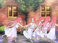 Las Quintillizas Nakano de niñas