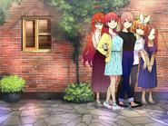 Las Quintillizas Nakano en algunos años después