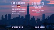 Mermaidman and Barnacleboy (1999) DVD Menu (Languages)