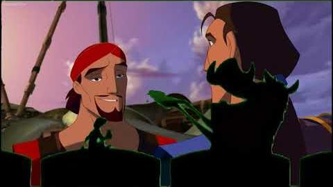 Timon and Pumbaa at the Cinema Sinbad Legend of The Seven Seas