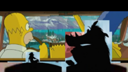Pumbaa Pauses The Simpsons Movie to Get Some Grubs