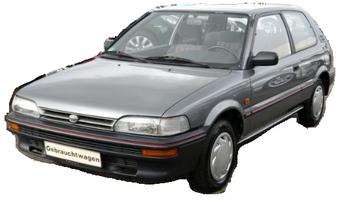 05.1987-09.1992 Garde-Boue à gauche Toyota Corolla E9
