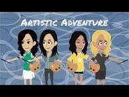 DISH Girls S1 E18 Artistic Adventure 1080p HD ft