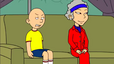 Rosemary and Caillou Disgusted