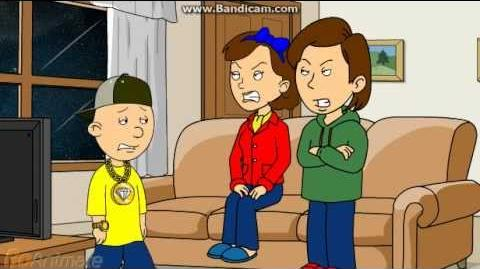 Caillou Tries To Have Swag