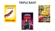 Triple rant sausage party, emoji movie, and happytime murders