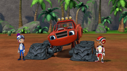 S4E10 Blaze with flat tires