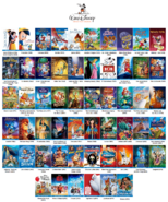 Walt disney animation studios feature films