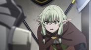 Anime Episode 3 High Elf Archer is shocked