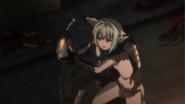 High Elf Archer helps Goblin Slayer