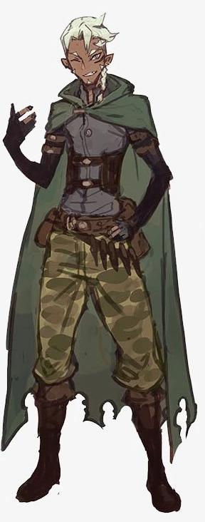 Half-Elf Scout