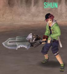 Shun in-game.
