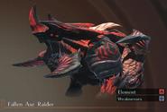 Fallen Axe Raider