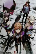 RageBurst Manga Blood Unit