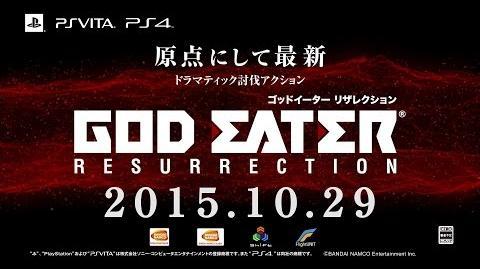 『GOD_EATER_RESURRECTION』第1弾PV
