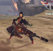 Lulu in gun form