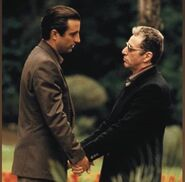 Vincent mancini and michael corleone