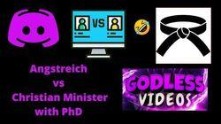 Jack Angstreich vs Christian PhD Reverend Mike Debate