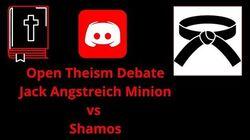 Open Theism Debate Jack Angstreich Minion vs Shamos