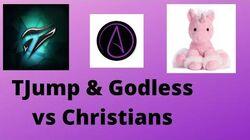 TJump & Godless vs Christians On Modern Day Debate