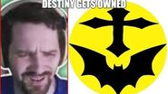 Destiny Gets Owned By Mr Batman