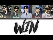 CIX (씨아이엑스) - 'WIN' (Korean Version) -The God of High School OST- -Color Coded Lyrics - Han-Rom-Eng-