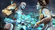 Kratos uccide atena