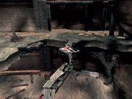 Kratos haciendo equilibrio