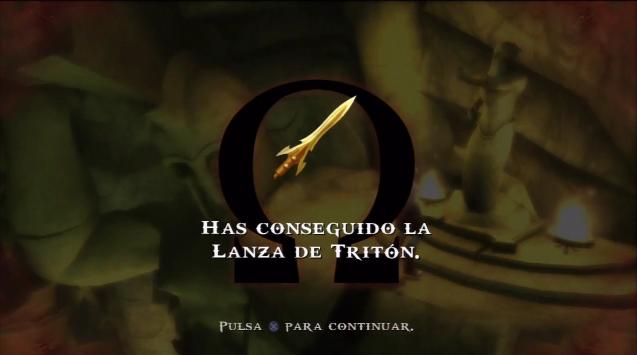 Lanza de Tritón