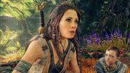 Freya with Atreus