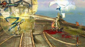 Megera tisifone demone scontro kratos GoW Ascension alternativa 4