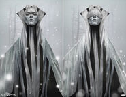 Light Elf Concept Art God of War 2018