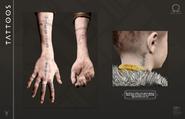 Tatuagens de Atreus