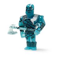Figura kidrobot de kratos azul