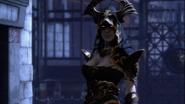 Tisifone appare illusione sparta guanto statua apollo GoW Ascension