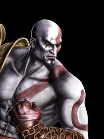 Kratos in Mortal Kombat 9