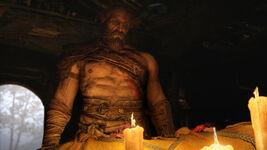 God of War - Screenshot - Kratos Kerzen