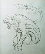 Tatzelwurm-CodexSketch