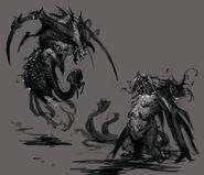 Concept art aletto forma mostro 04 gow ascension