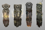 Troll Totem Early Concept Art