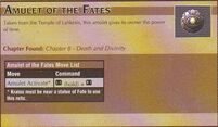 Amulet of the Fates