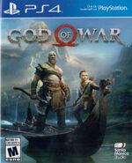 God of War 2018 Cover Art