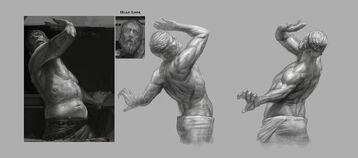 Concept art prigione dannati 7