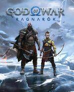 God of War Ragnarok cover profilo