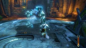Kratos talos ghiaccio